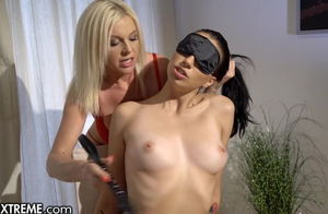 21Sextreme Mature Sapphic Blindfolds..