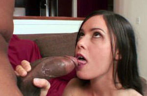 Teensy Mina Leigh torn up by a Huge..