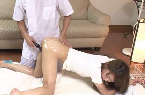 Hotwife wifey Aoki getting torn up in..