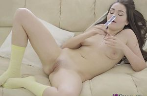 Teenager Liliana Gets All Her Fuckholes