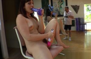 Fat culo stunner dirty dances outdoors