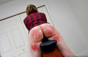 Pretty Blond Bound Hard! - Slapping