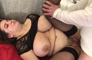 Luxurious round porking her vag