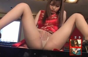 Asian Dame in Asian Sundress