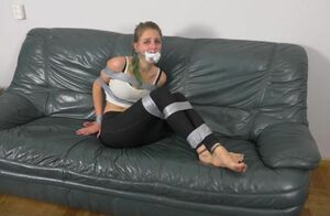 Gamer damsel duct taped