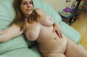 Obese girl Giant All-natural Knockers..