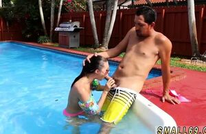 Dual tonguing blow-job Swimming In Sperm