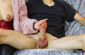 Edging Handjob, Destroyed Ejaculation..